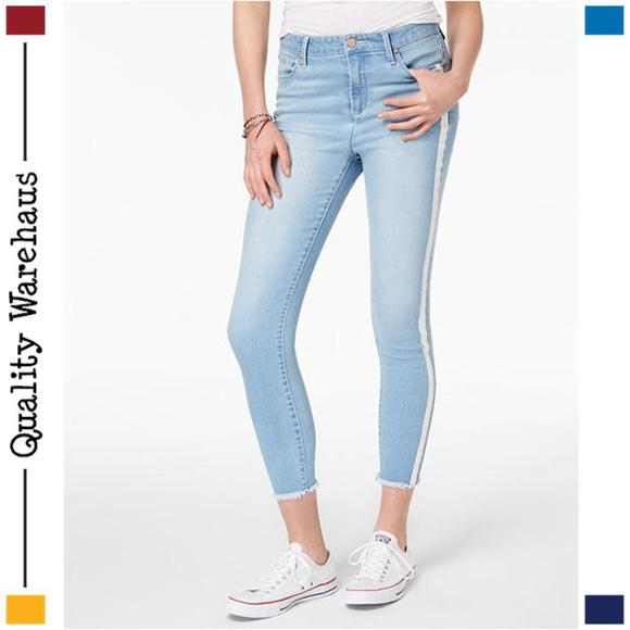 388f1d8cece Tinseltown Jeans   Striped High Rise Stretch Skinny   Poshmark